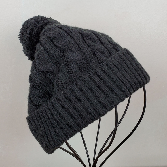 Cotton On Accessories - Cotton On Cable Knit Pom Pom Beanie